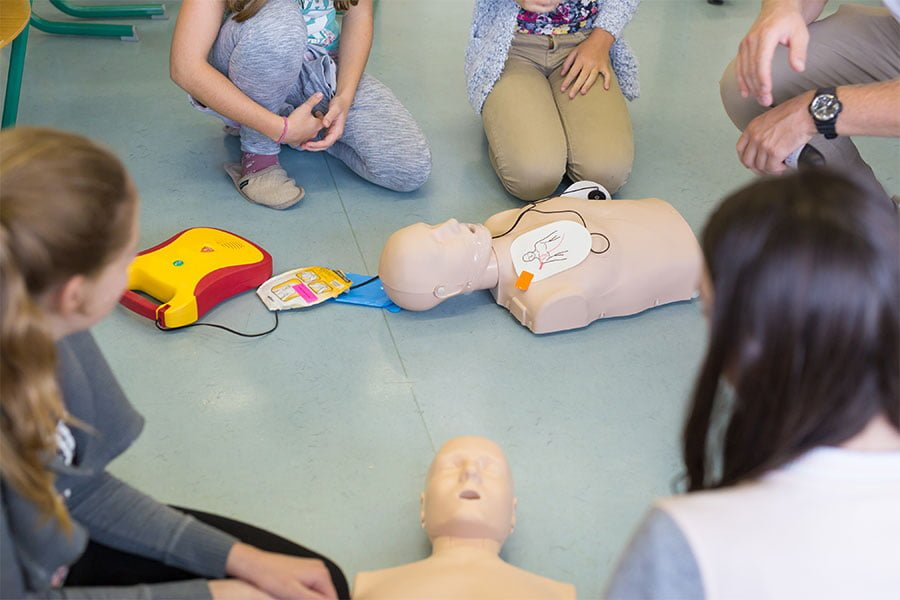 Employee First Aid Training